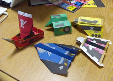 クリスマス 折り紙 折り紙 舟 : okamonohashi.way-nifty.com